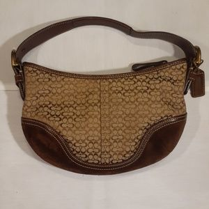 Coach small hobo bag